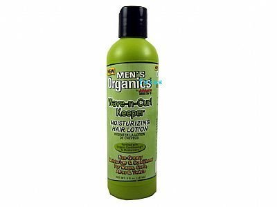Men's Organics Wave-n-Curl Keeper Moisturizing Hair Lotion - 237ml by Africa's Best (English Manual)