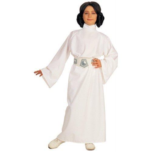 Rubies STAR WARS Princess Leia - Kids Costume 8 - 10 years