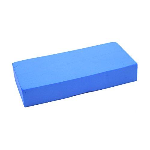 sourcing map Aspiration PVA bleu Bloc mousse éponge nettoyant polyvalent Outil pour Auto Voiture