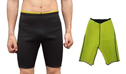 NOVECASA Weste Gewichtsverlust/Hosen Sauna Mann Neopren Sauna Kostüme Shorts Body Shaper Schwitzen Schwitzen, Fettverbrennung, Abnehmen Abdominal Belt (XXL, Hosen)