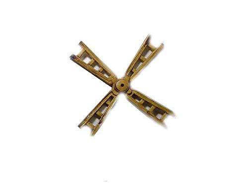 Generico 1 pala per mulino a vento 14 cm circa per pastori presepe ricevi un portachiavi g. armeno artigianali shepherds crib