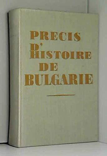 Précis d'histoire de Bulgarie