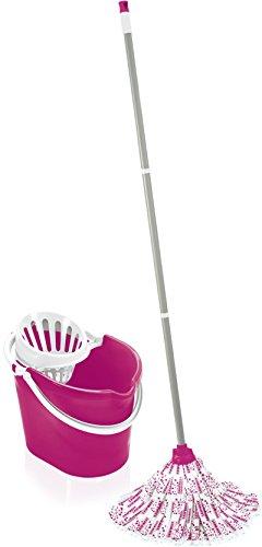 Leifheit Classic Set Mop, Otro, Rosa, 39x29x29 cm