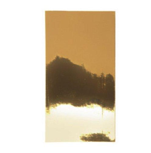 Wachsplatten 2 Stück gold 200 x 100 mm – Verzierwachs zum Kerzen dekorieren