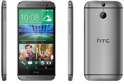 one (12,7 cm (5 Zoll) LCD-Display, Quad-Core, 2,3GHz, 2GB RAM, 5 Megapixel Frontkamera, FM-Radio, Android 4.4.2) metallgrau - [T-Mobile-Branding] (Htc M8 Mobile)