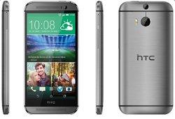 HTC One (M8) Smartphone (12,7 cm (5 Zoll) LCD-Display, Quad-Core, 2,3GHz, 2GB RAM, 5 Megapixel Frontkamera, FM-Radio, Android 4.4.2) metallgrau - [T-Mobile-Branding]