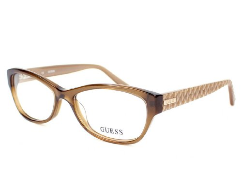 Guess Geometric Glasses in Purple - GU2376 PUR 53, K57 (Light brown / ), 53