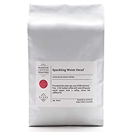 1kg Decaf Coffee – 100% Arabica – Chemical Free Sparkling Water Decaffeinated – Freshly Roasted Whole Bean Coffee Beans…