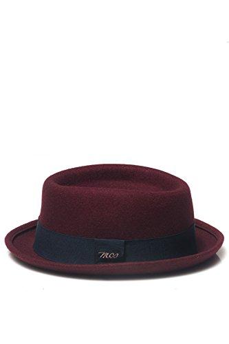 MCS - Cappello da Uomo - Bordeau L