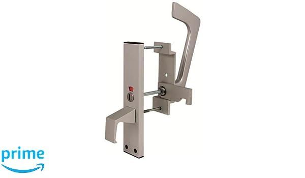 Edelstahl T/ürschild Toilette Symbol Behinderte Weniger in der Lage 75 mm