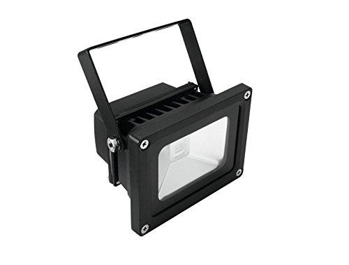 Eurolite LED IP FL-10 COB UV | Wetterfester (IP54) UV-Scheinwerfer mit 10-Watt-COB-UV-LED | High-Power UV Schwarzlicht Beleuchtung | Vielseitige...