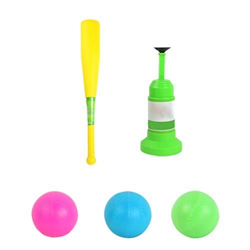 Ysoom Baseball Spielzeug, Kinder Baseball Training Set Automatische Launcher mit Fledermaus und Baseball für Kinder Kinder Geschenke Geburtstag Urlaub -