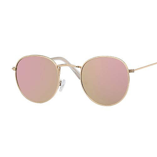 JYTDSA Oval Sunglasses Women Clear Lens Eyewear Round Sun Glasses for Female Ladies