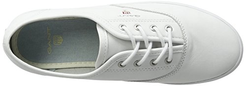 Gant New Haven, Sneakers basses femme Blanc (Bright White)