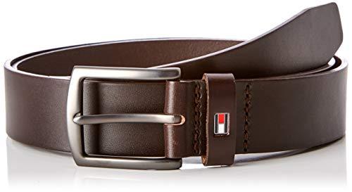Tommy Hilfiger Herren Denton Belt 3.5 Gürtel, Beige (Testa Di Moro 266), 677 (Herstellergröße: 105)