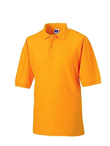 Jerzees Pique polo shirt-Camicia Unisex - Adulto Uomo Pure Gold