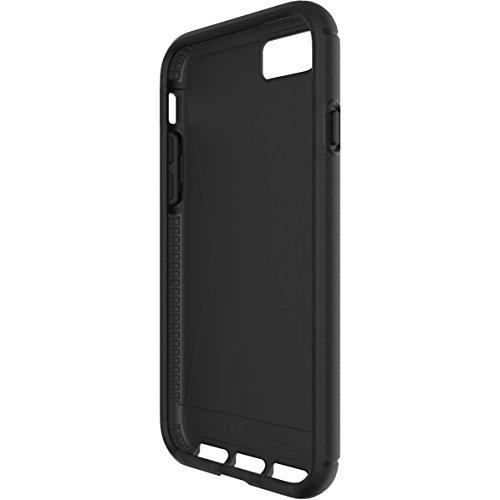 Tech21Impact Shield Self Heal Film de protection d'écran autocicatrisant résistant aux chocs anti-chocs pour Samsung LG G5–Transparent Noir