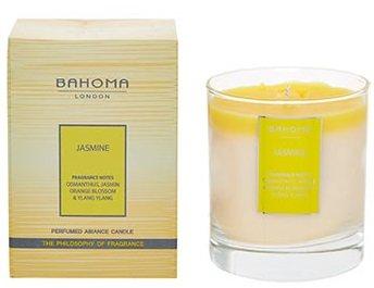 Duftnote Desire London Parfümierte Kerze 220g (7.8oz.) handgefertigt in England, Jasmin, gelb, 220g -
