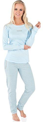 Italian Fashion IF Pyjama Femme Sali 0223 Bleu
