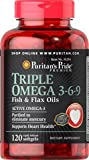 Triple 0mega 3-6-9 Fish & Flax Oils from Puritans Pride