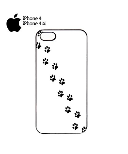 Cat Paw Kitten Meow Mobile Cell Phone Case Cover iPhone 5c Black Schwarz