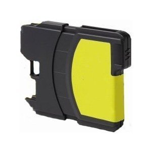 Brother Compatible LC-61 Yellow Ink cartridge (LC61 Series) by Unknown (Lc61-serie)