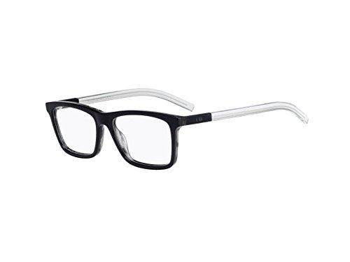 Dior Homme Brillen Für Mann BLACKTIE215 LMX, Blue Tortoise / Crystal Kunststoffgestell, 56mm