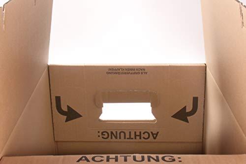 15 Gläserkartons Flaschenkartons Umzugskartons Geschirrkarton 2-Wellig 15 Fächer von A&G-heute - 5