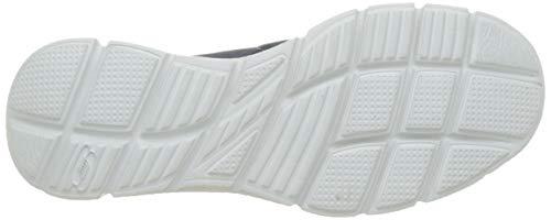 Skechers Equalizer Persistent, Zapatillas para Hombre, Azul (Navy Grey), 45 EU
