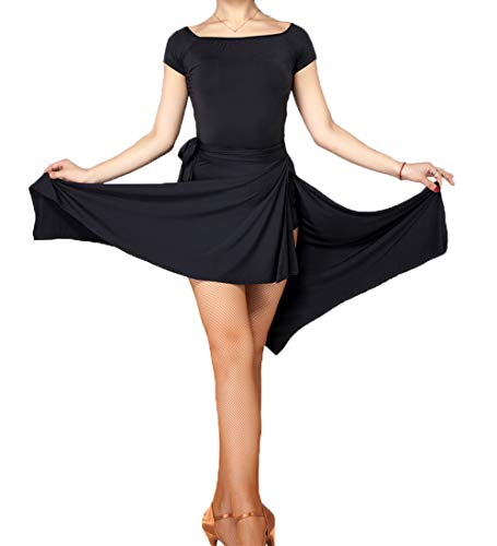 a49789212978 ModLatBal Gonna Latina per Donna Ragazze Skate Wrap Scarf Tango Dress Adult  Swing Rumba Panno da