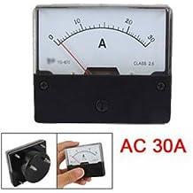 SODIAL(R) CA 30A Amperimetro Analogico Panel Rectangular YS-670