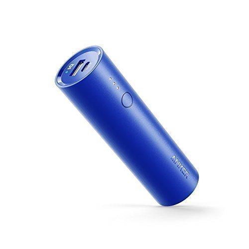 Anker PowerCore 5000mAh Externer Akku Powerbank Batterie Extra Kompakt Slim Handy Ladegerät mit Power IQ für iPhone 7 7+ 6s 6 Plus SE, iPad, Samsung Galaxy und Weitere Smartphone