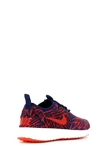 Nike Wmns Juvenate Print, Chaussures de Sport Femme, Bleu, 38 EU Bleu - Azul (Lyl Bl / Unvrsty Rd-Brght Crmsn)