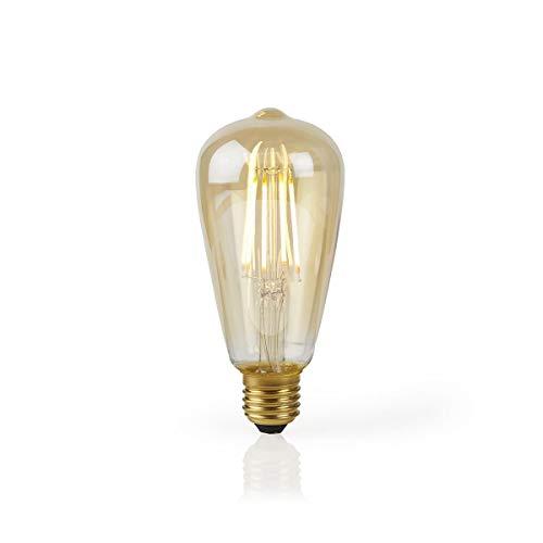 TronicXL 2 Stück XL WiFi WLAN Lampe Filament Retro Design LED Leuchtmittel Smart Glühlampe E27 für amazon Alexa Google Home