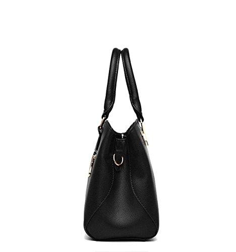 Dhfud Donna Borsa A Tracolla Messenger Bag Fashion Simple Black