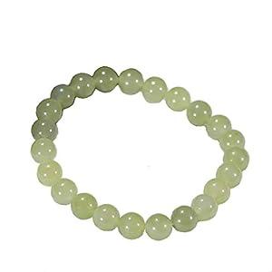 Aligeya Hetian Yuqing weiße Jade Perlen Armband Männer und Frauen Jade Armband Schmuck
