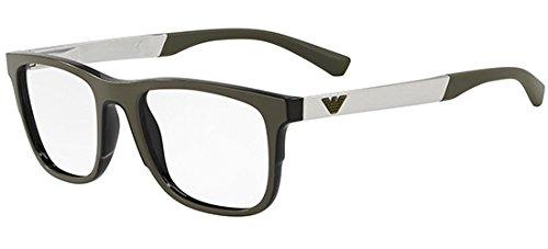 Emporio Armani Brillen EA 3133 MATTE BLACK Herrenbrillen