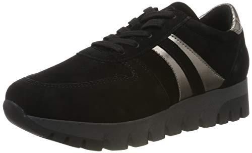 Tamaris Damen 1-1-23741-23 Sneaker, Schwarz (Black/Pewter 94), 40 EU