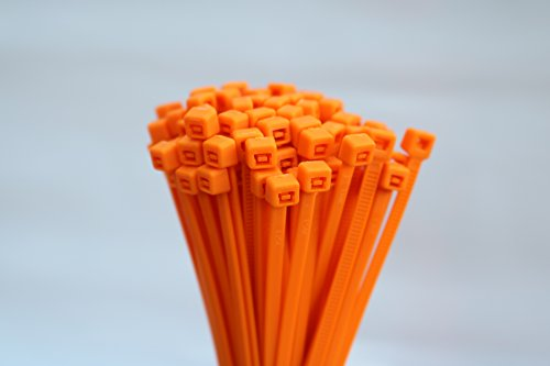 100-stuck-kabelbinder-farbig-auswahl-rot-grun-blau-braun-gelb-orange-uvm-25-x-100-orange