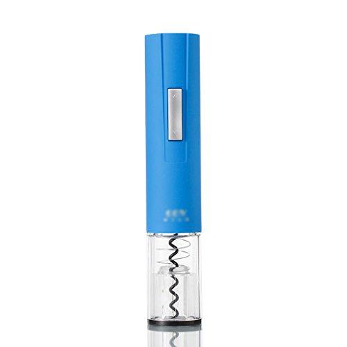 Blau Automatische Vakuum (SUBBYE Automatische Flaschenöffner Matte Korkenzieher Elektrische Wein Flaschenöffner Mit Vakuum Wein Stopfen Farbe Optional ( Farbe : Blau ))