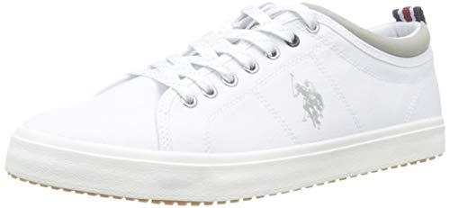 U.S. POLO ASSN. Wuck, Sneaker Uomo, Bianco (Bianco 001), 43 EU