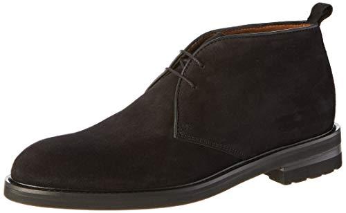 Lottusse L6707, Zapatos de Cordones Derby para Hombre, Negro Buckster Negro Buckster Negro, 41 EU