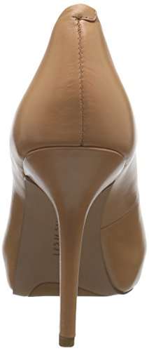 Nine West Qtpie Leather Pump Dress Light Natural