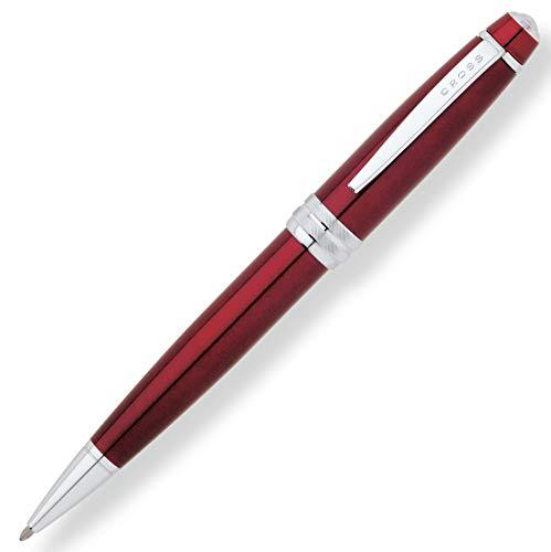 Cross Bailey Kugelschreiber (Drehmechanik, Schreibfarbe schwarz, Strichstärke M, inkl. Premium-Geschenkbox) lack rot