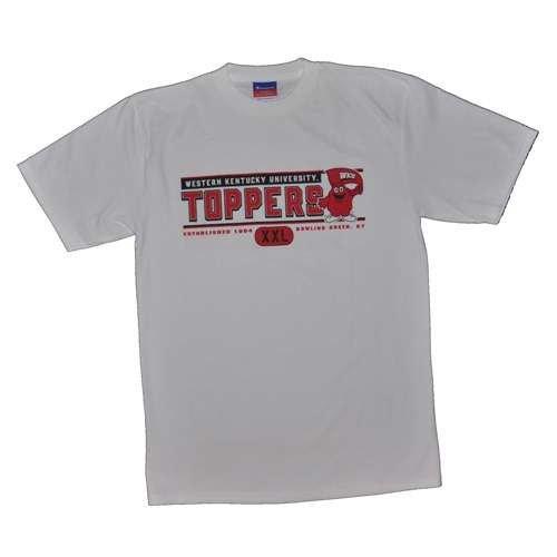 Champion Western Kentucky T-Shirt-Topper Logo, weiß, Herren, weiß -