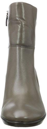 Ecco Damen Shape 55 Plateau Stack Stiefel Grau (Stone)