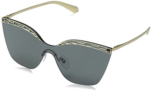 Bulgari Damen 0Bv6093 278/87 37 Sonnenbrille, Schwarz (Black/Grey)