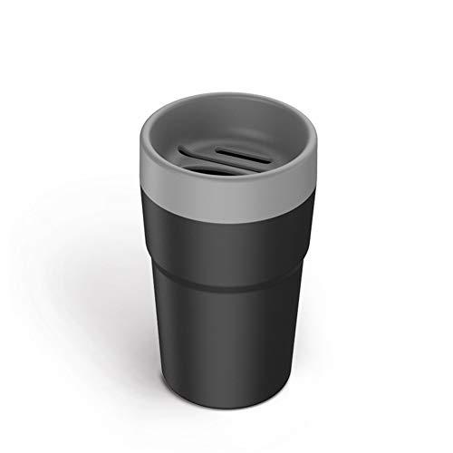 Preisvergleich Produktbild periwinkLuQ Auto-Mülleimer,  Auto-Innenraum,  Mülleimer,  Taschentücher,  Mini-Aschenbecher grau