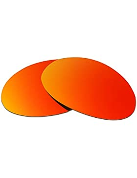 Hkuco Plus Mens Replacement Lenses For Oakley Romeo 1 Sunglasses Red Polarized