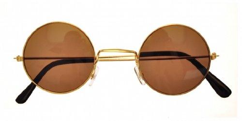 Bristol Novelty Novelty-BA128 BA128 - Gafas John Lennon, Color Dorado, Dorado
